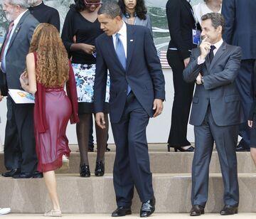 Obama na szczycie G8