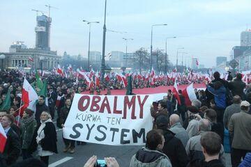 """OBALAMY KURWA TEN SYSTEM"""