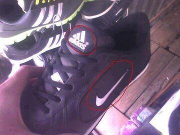Adidas & Nike in 1