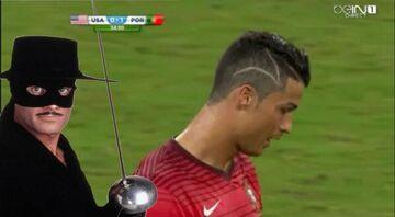 Cristiano Ronaldo z nowąfryzurą
