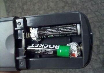 Adapter baterii AAA do AA