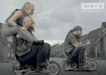 Mini motocykliści