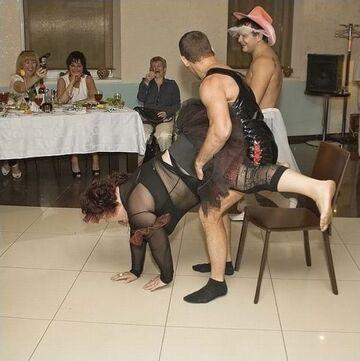 Ślubna zabawa