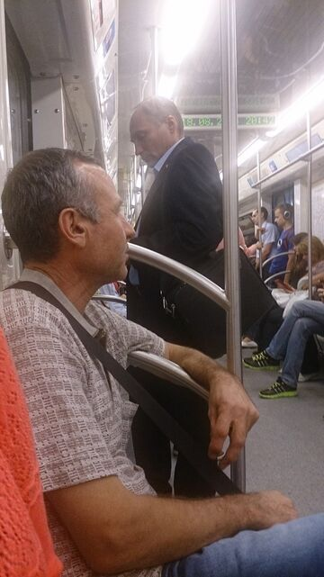 Putin w metrze?