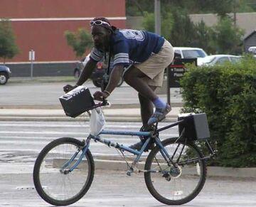 Odwrócona rama w rowerze?!