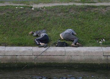 Ze Szwagrem na rybach