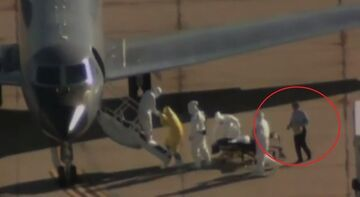 Zabezpieczenie przed Ebolą na lotnisku?