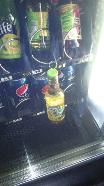 Tymbark z automatu?