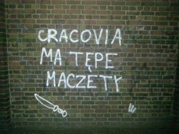 """CRACOVIA MA TĘPE MACZETY"""