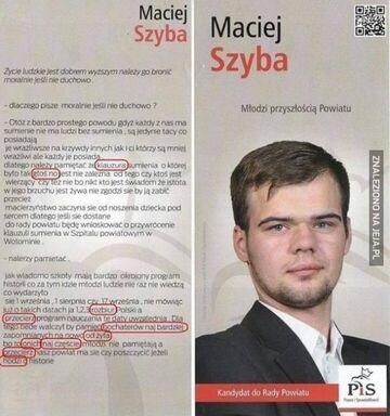 Maciej Szyba - Młodzi przyszłością powiatu