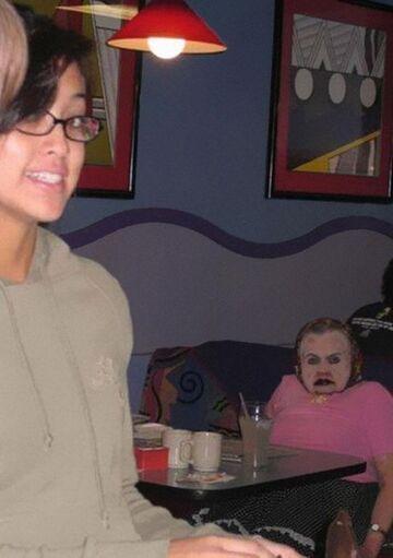 Babcia z makeup