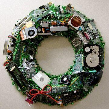 Świąteczny wieniec Informatyka