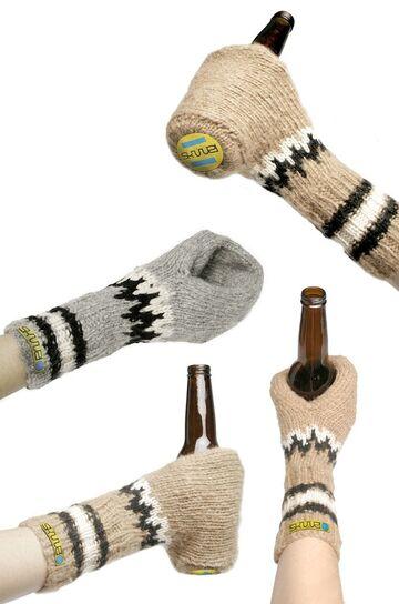 Rękawiczki do trzymania piwa!