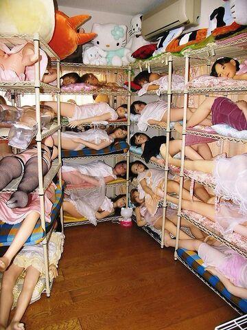Śpią zmęczone zabawki