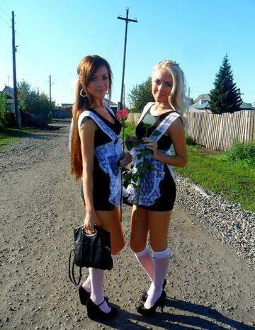 Dziewczyny w mundurkach