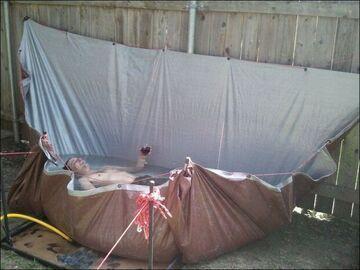 Przydomowy basen własnej roboty