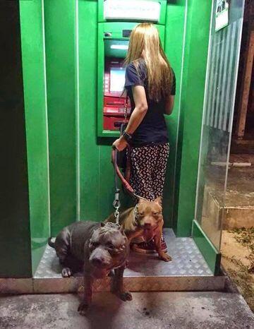 Do bankomatu z ochroną
