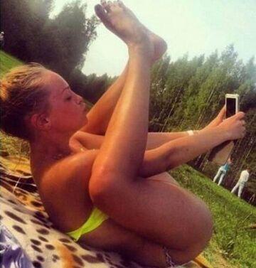 Selfie w takiej pozycji...