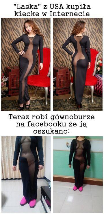 Gównoburza o sukienkę!