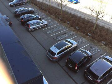 Parking KAF (Związek Pracy Kobiet) w Danii