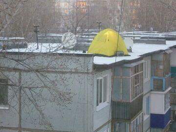 Rozbić namiot na dachu?
