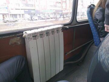 Ogrzewanie w autobusie