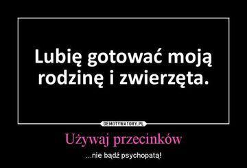 Używaj przecinków :)