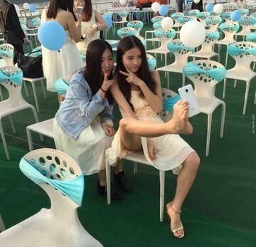 Chińskie selfie
