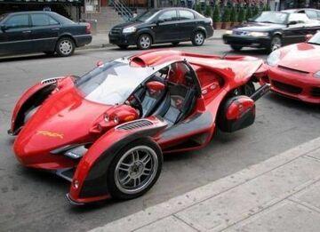 Dziwne auto