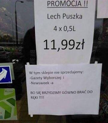 """""""BO SIĘBRZYDZIMY GÓWNA BRAĆ DO RĘKI"""""""