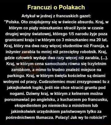 Francuzi o Polakach