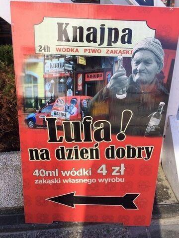 Knajpa - Lufa na dzieńdobry!