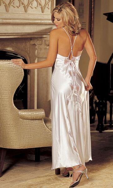 Biała smukła elegancja
