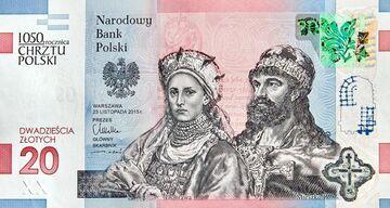 Oto nowy banknot 20 zł