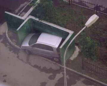 Kto tak zaparkował