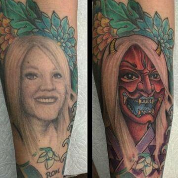 Jak zakryć tatuaż byłej?