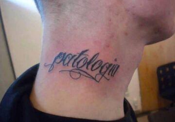 """Tatuaż: """"Patologia"""""""