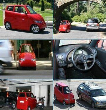to się nazywa wąskie auto