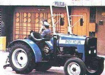 Traktor Policji