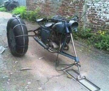 skuter śnieżny?