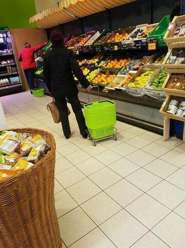 Pierwszy raz w supermarkecie?