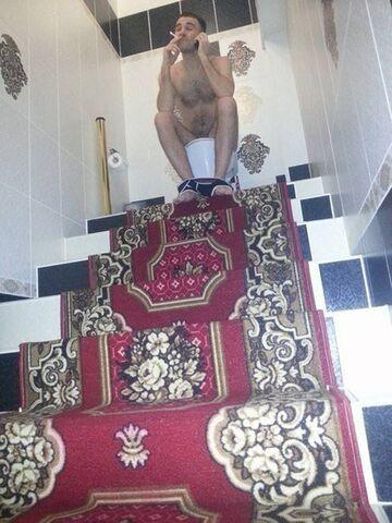 To się nazywa siedzieć na tronie!