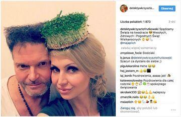 """Krzysztof Rutkowski na Instagramie: """"Spędzamy Święta na kwadracie"""""""