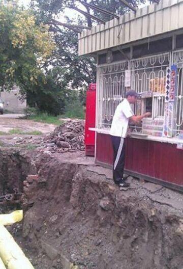 Rosja: Zakupy w kiosku