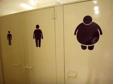 Toaleta dla otyłych?