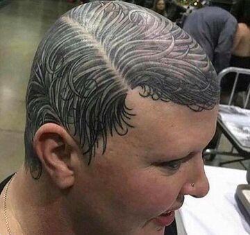 Make-up dla łysych?