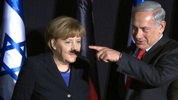 Ups... Angela Merkel