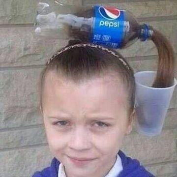 Jak tata zrobi fryzurę, to nie ma...