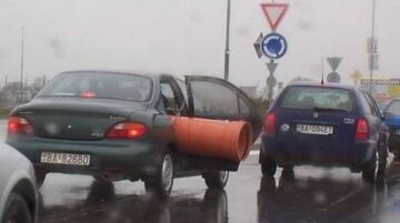 rura w samochodzie