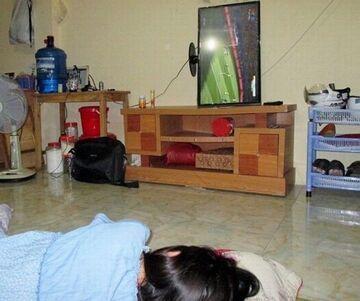 Kiedy oglądasz leżąc